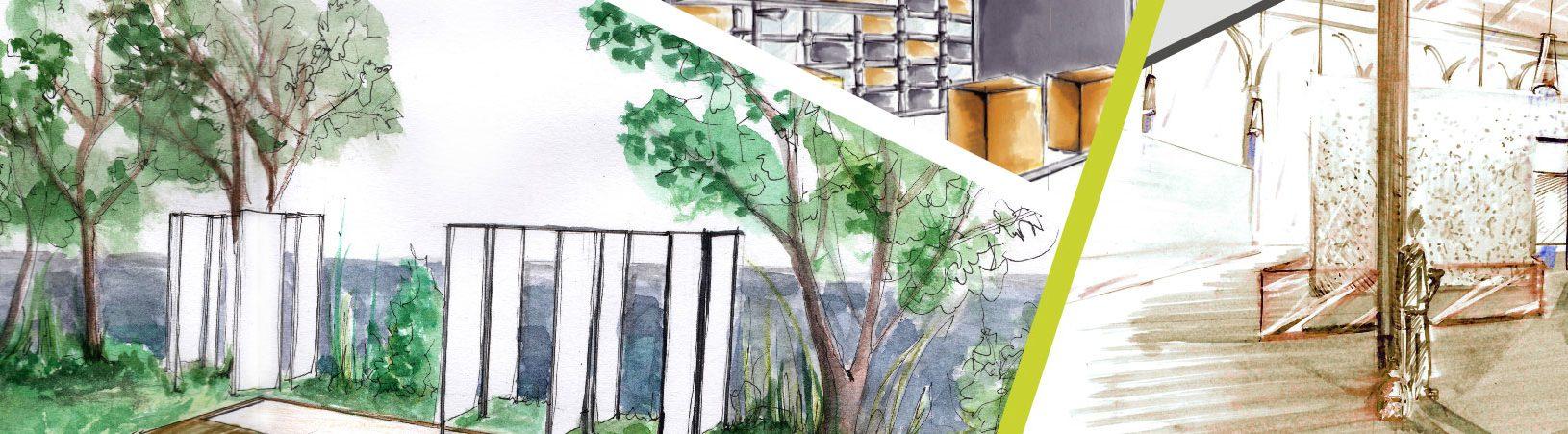 BTS-Design d'espace - Com'Art Design Paris - Inscription Bachelor Design d'espace - Formation graphisme en Alternance
