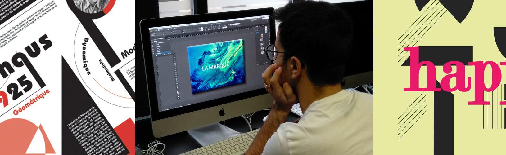 Etude de concepteur multimédias pour le print - ecole de communication visuelle paris Comart