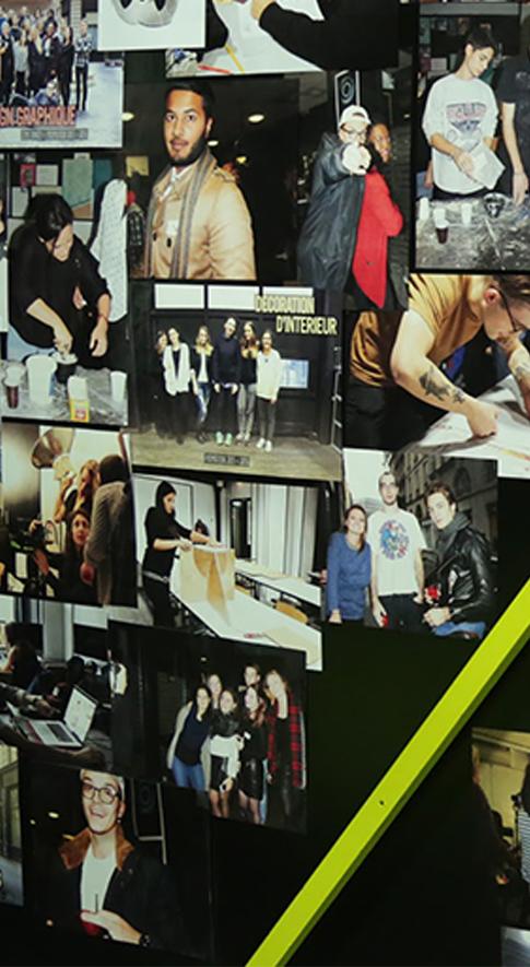 Ecole d'art et design graphique sur paris - Locaux Comart formation Infographie multimédia