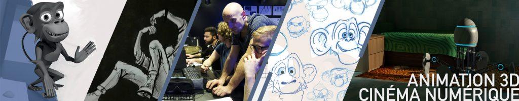 Formation Animateur 3D et cinéma numérique en alternance - Ecole comart paris