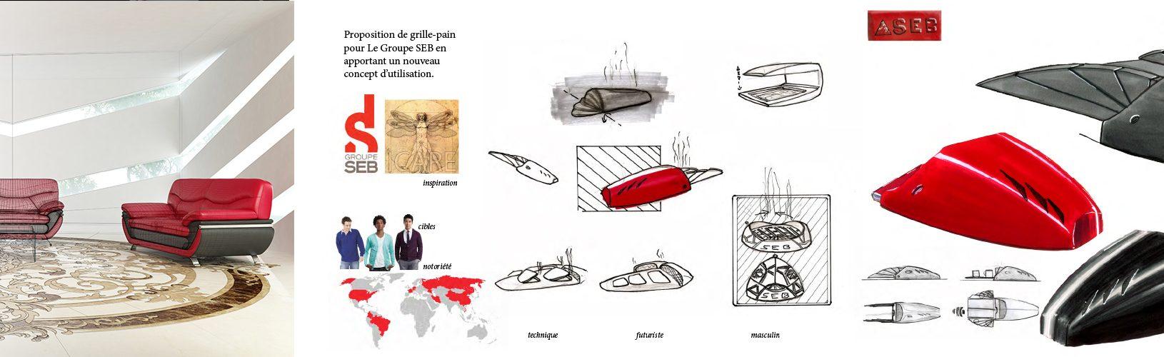 Formation Design produit et Mobilier - Com'Art Ecole Graphisme infographie Decoration interieur Architecture