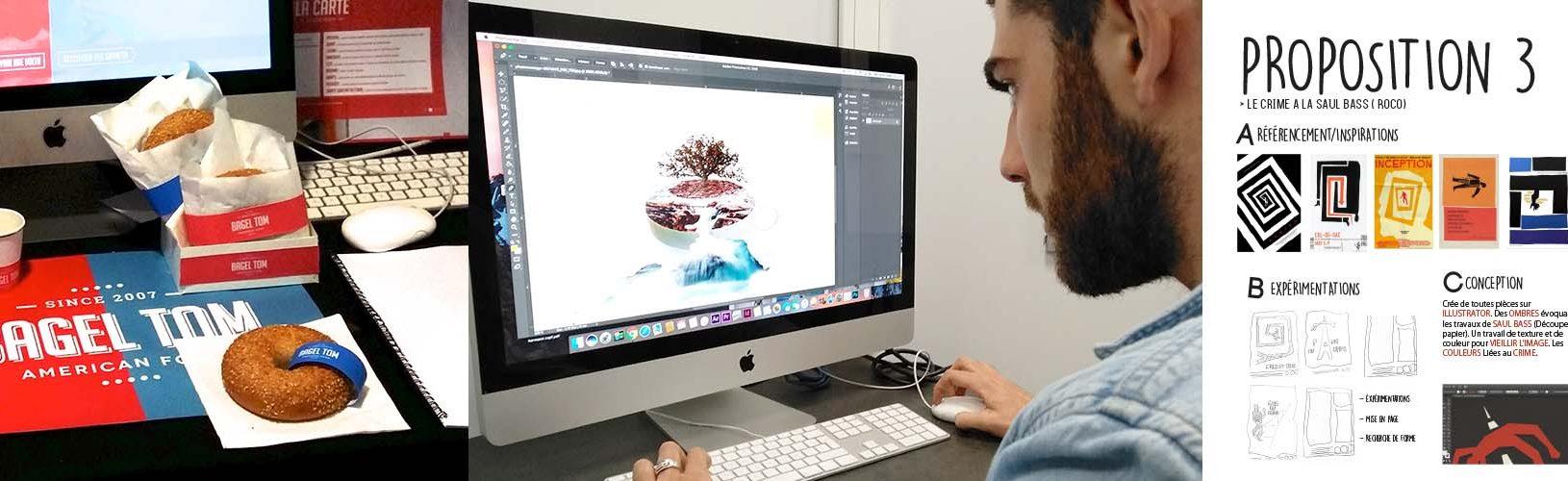 Formation graphiste concepteur niveau 6 - Ecole Com'Art