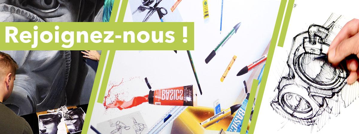 Inscriptin Ecole Com'Art Design
