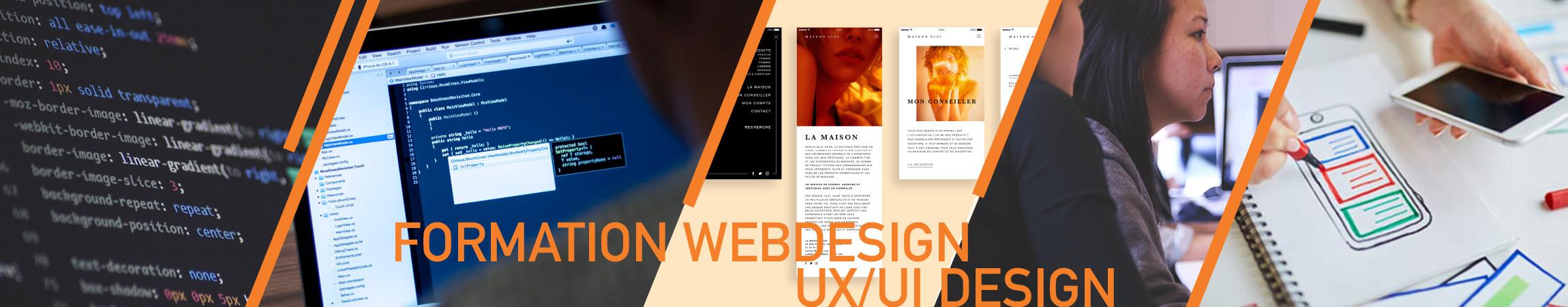 Formation Web designer, UX designer Paris - Com'Art Design Paris